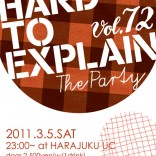 HARD TO EXPLAIN TOKYO INDIE UCESS THE LOUNGE
