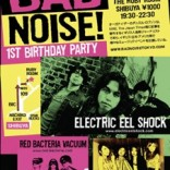 Bad Noise Tokyo Indie Ruby Room Electric Eel Shock 1st Birthday Party