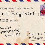 FROM ENGLAND TO ME TOKYO INDIE