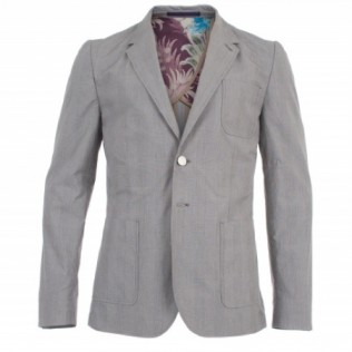 PAUL SMITH PRINCE OF WALES COTTON BLAZER TOKYO INDIE