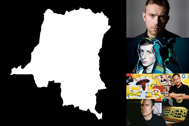 DRC MUSIC TOKYO INDIE KINSHASA ONE TWO DAMON ALBARN