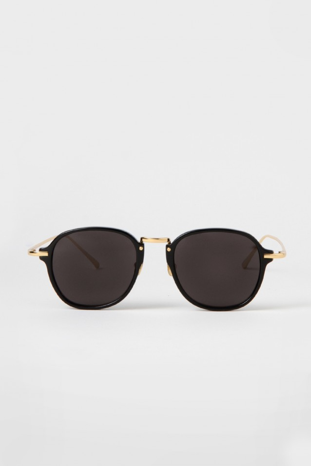 Luxe Square Sunglasses Black101
